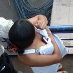 Rangement de portable coquin... Amazonas - Brésil