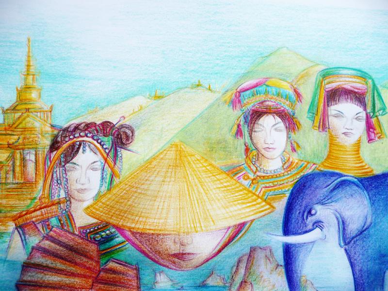 Gilanik Asia 2011 - détail -