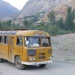 L'autobus pour Penjikend