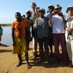 Photo de groupe sur la Tsiribihine