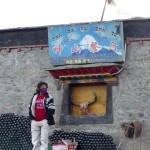 Bouteilles et balais  de Darchen - Kailash -
