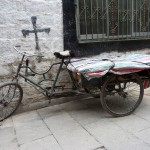 Tricycle à Lassha - Tibet