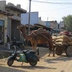 Départ de Delhi…