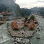 Bukit Lawang vu depuis le pont