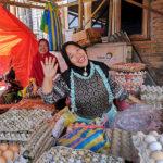 Au marché de Berastagi