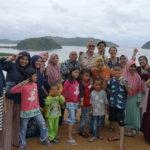 Une grande famille à Mandeh