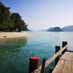 "Paggang island : ""île déserte""!"