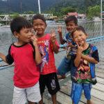 Sourires d'enfants…