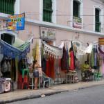 Vente de hamacs à Bélem (Brésil)