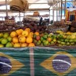 Fruits tropicaux à Belem - Brésil