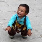 Rencontre sur le Barkhor à Lassha - Tibet