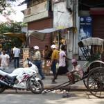 Contrastes à Calcutta - Inde