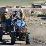 En arrivant au Mont Kailash - Tibet