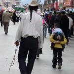 Au Barkhor à Lassha - Tibet
