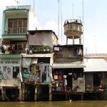 Sur le delta du Mékong à Cantho- Vietnam