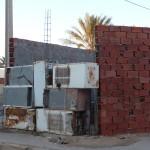 Pallissade givrante à Tamerza - Tunisie