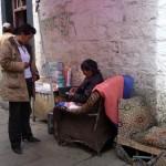 """Dame pipi"" à Lassha -Tibet"