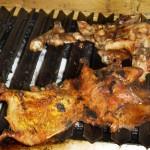 """Grillade de Cochons d'Inde ou """"Coy"""" - prononcer """"couille""""- Otavalo - Equateur"""