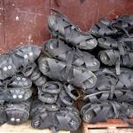 Chaussures en pneus à Chachapoyas - Equateur