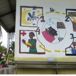 Conseils anti-palu à la maternité - Madagascar