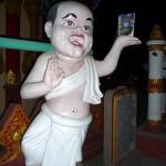 Au temple de Banmaw