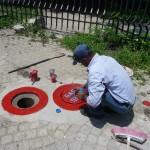 Peintre de la ville - Cartagena - Colombie