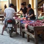 Boucherie-drive à Dien Bien Phu - Vietnam