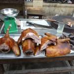 Viande de chien à Hanoi - Vietnam