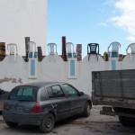 Sur un parking à Hergla -Tunisie