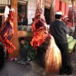 Le yak et sa queue à Kashgar - Chine