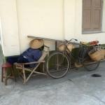 Sieste à Katha - Birmanie