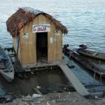 WC du port de Pucallpa! - Pérou