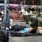 Etals de boucherie ! Lassha - Tibet
