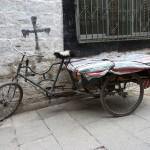 Tricycle à Lassha - Tibet