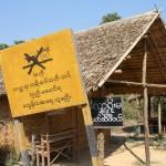 Interdiction de stationnement des charettes à buffles! Birmanie